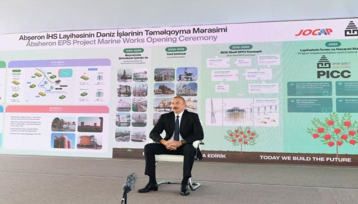Президент Ильхам Алиев: Если Армения игнорирует международное право, то почему мы должны его соблюдать?!