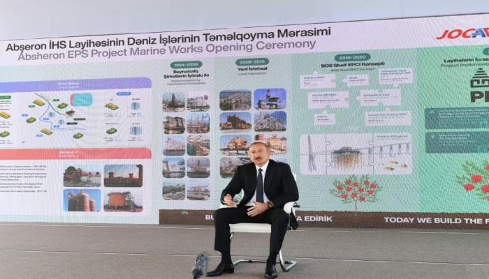 Президент Ильхам Алиев: Мы не претендуем на земли других стран, но и свои земли никому не отдадим