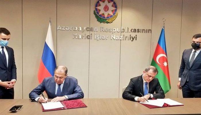 Rusiya ilə Azərbaycan arasında daha bir sənəd imzalandı