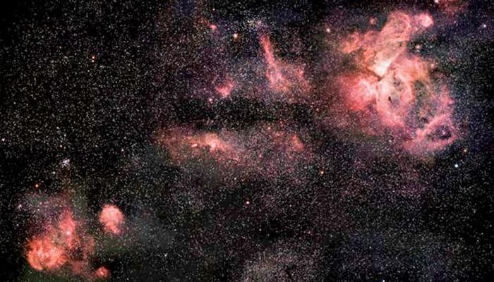 Uzaydan nefes kesen görüntü