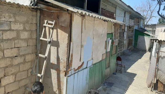 В Мингячевире произошел оползень в месте проживания вынужденных переселенцев