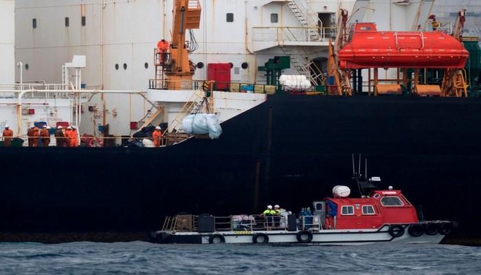 """В США заявили, что Иран перехватил в международных водах танкер """"Вила"""""""
