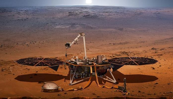 NASA Marsdan yeni görüntü yaydı