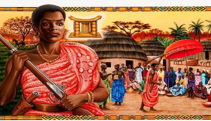 Britaniyalılara qarşı savaşa qalxaraq qalib gəlmiş Afrika qadını